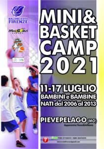 Read more about the article MINI&BASKET CAMP 2021